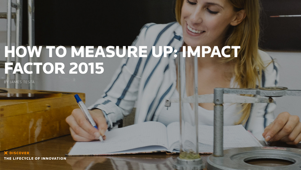 State Of Innovation - How to measure up Impact Factor 2015