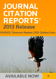 2013 Journal Citation Reports.  Learn more.